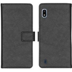 iMoshion Luxus Booktype Hülle Schwarz für das Samsung Galaxy A10