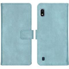 iMoshion Luxus Booktype Hülle Hellblau für das Samsung Galaxy A10