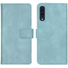 iMoshion Luxus Booktype Hülle Hellblau für das Samsung Galaxy A50 / A30s
