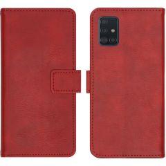 iMoshion Luxuriöse Buchtyp-Hülle Rot für das Samsung Galaxy A51