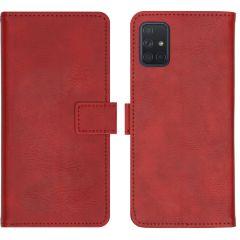 iMoshion Luxuriöse Buchtyp-Hülle Rot Samsung Galaxy A71
