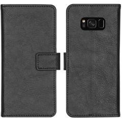 iMoshion Luxus Booktype Hülle Schwarz für das Samsung Galaxy S8