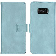 iMoshion Luxus Booktype Hülle Hellblau für das Samsung Galaxy S8