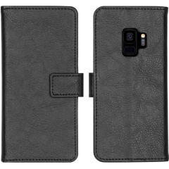 iMoshion Luxus Booktype Hülle Schwarz für das Samsung Galaxy S9