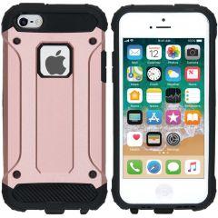 iMoshion Rugged Xtreme Case Roségold für iPhone SE / 5 / 5s