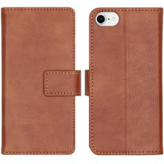iMoshion Luxus Booktype Hülle Braun iPhone SE (2020) / 8 / 7 / 6(s)