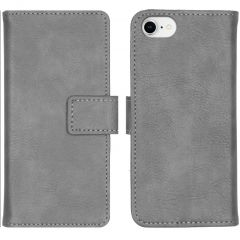 iMoshion Luxus Booktype Hülle Grau iPhone SE (2020) / 8 / 7 / 6(s)