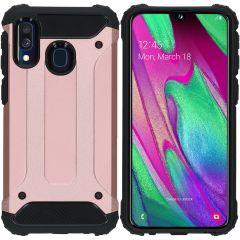 iMoshion Rugged Xtreme Case Roségold für Samsung Galaxy A40