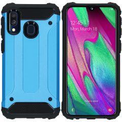 iMoshion Rugged Xtreme Case Hellblau für das Samsung Galaxy A40