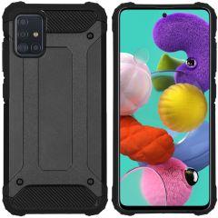 iMoshion Rugged Xtreme Case Schwarz für das Samsung Galaxy A51