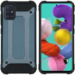 iMoshion Rugged Xtreme Case Dunkelblau für das Samsung Galaxy A51