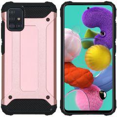 iMoshion Rugged Xtreme Case Roségold für das Samsung Galaxy A51