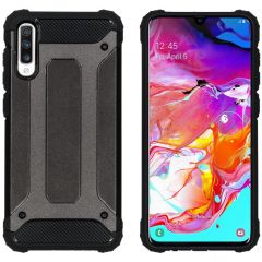 iMoshion Rugged Xtreme Case Schwarz für Samsung Galaxy A70