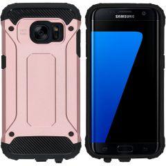 iMoshion Rugged Xtreme Case Roségold für das Samsung Galaxy S7