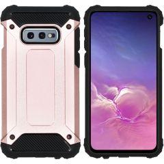 iMoshion Rugged Xtreme Case Roségold für Samsung Galaxy S10e