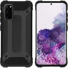 iMoshion Rugged Xtreme Case Schwarz für das Samsung Galaxy S20