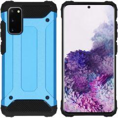 iMoshion Rugged Xtreme Case Hellblau für das Samsung Galaxy S20