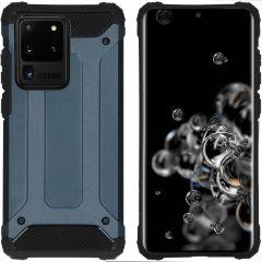 iMoshion Rugged Xtreme Case Dunkelblau für Samsung Galaxy S20 Ultra