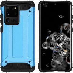 iMoshion Rugged Xtreme Case Hellblau für das Samsung Galaxy S20 Ultra