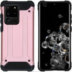 iMoshion Rugged Xtreme Case Roségold für das Samsung Galaxy S20 Ultra