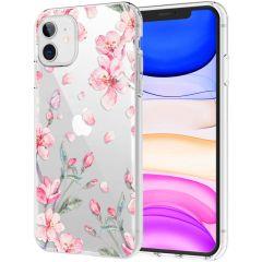 iMoshion Design Hülle iPhone 11 - Blume - Rosa
