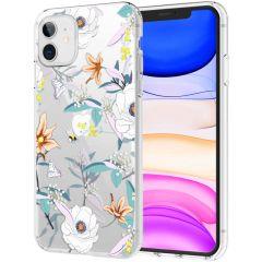 iMoshion Design Hülle iPhone 11 - Blume - Weiß