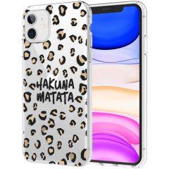 iMoshion Design Hülle iPhone 11 - Leopard - Braun / Schwarz