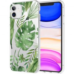 iMoshion Design Hülle iPhone 11 - Blätter - Grün