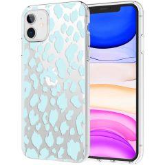 iMoshion Design Hülle iPhone 11 - Leopard - Blau