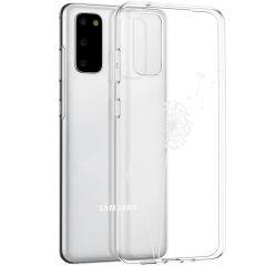 iMoshion Design Hülle Samsung Galaxy S20 - Pusteblume - Weiß