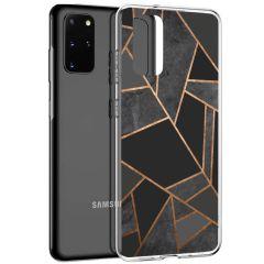 iMoshion Design Hülle Galaxy S20 Plus - Grafik-Kupfer - Schwarz