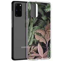iMoshion Design Hülle Galaxy S20 Plus - Dschungel - Grün / Rosa