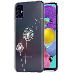 iMoshion Design Hülle Samsung Galaxy A51 - Pusteblume - Weiß