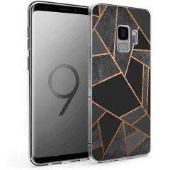iMoshion Design Hülle Galaxy S9 - Grafik-Kupfer - Schwarz / Gold