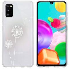 iMoshion Design Hülle Samsung Galaxy A41 - Pusteblume - Weiß