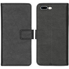 iMoshion Luxuriöse Buchtyp-Hülle iPhone 8 Plus / 7 Plus - Schwarz