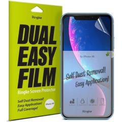 Ringke Dual Easy Anti-Staub Screen Protector iPhone 11 / Xr
