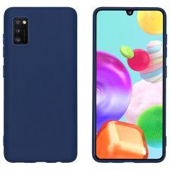 iMoshion Color TPU Hülle Dunkelblau für das Samsung Galaxy A41