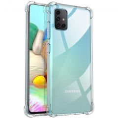 iMoshion Shockproof Case Transparent Samsung Galaxy A71