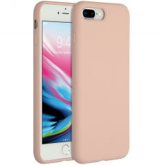 Accezz Liquid Silikoncase iPhone 8 Plus / 7 Plus - Rosa