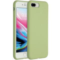 Accezz Liquid Silikoncase iPhone 8 Plus / 7 Plus - Grün