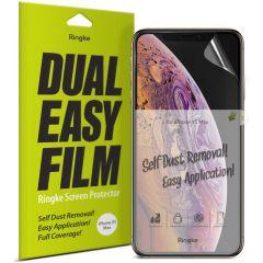 Ringke Dual Easy Anti-Staub Screen Protector iPhone 11 Pro / Xs / X