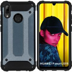 iMoshion Rugged Xtreme Case Dunkelblau für Huawei P Smart (2019)