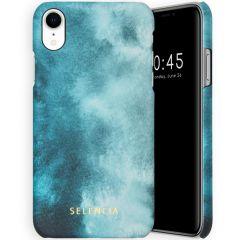 Selencia Maya Fashion Backcover iPhone Xr - Air Blue