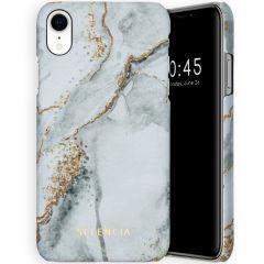 Selencia Maya Fashion Backcover iPhone Xr - Marble Stone