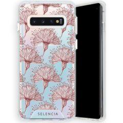 Selencia Zarya Fashion-Backcover mit zuverlässigem Schutz Galaxy S10
