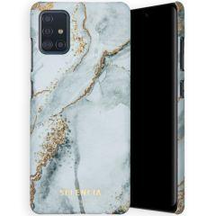 Selencia Maya Fashion Backcover Samsung Galaxy A51 - Marble Stone