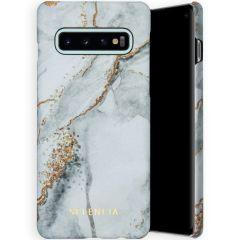 Selencia Maya Fashion Backcover Samsung Galaxy S10 - Marble Stone