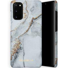 Selencia Maya Fashion Backcover Samsung Galaxy S20 - Marble Stone