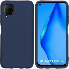 iMoshion Color TPU Hülle Dunkelblau für das Huawei P40 Lite